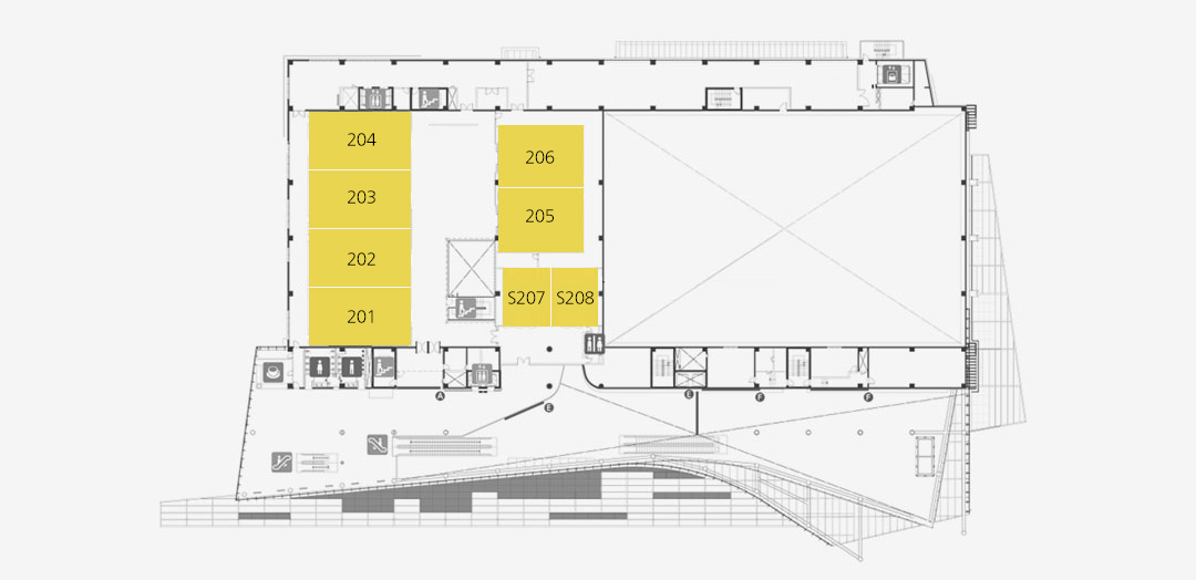 1F Meeting Rooms / Exhibition Hall